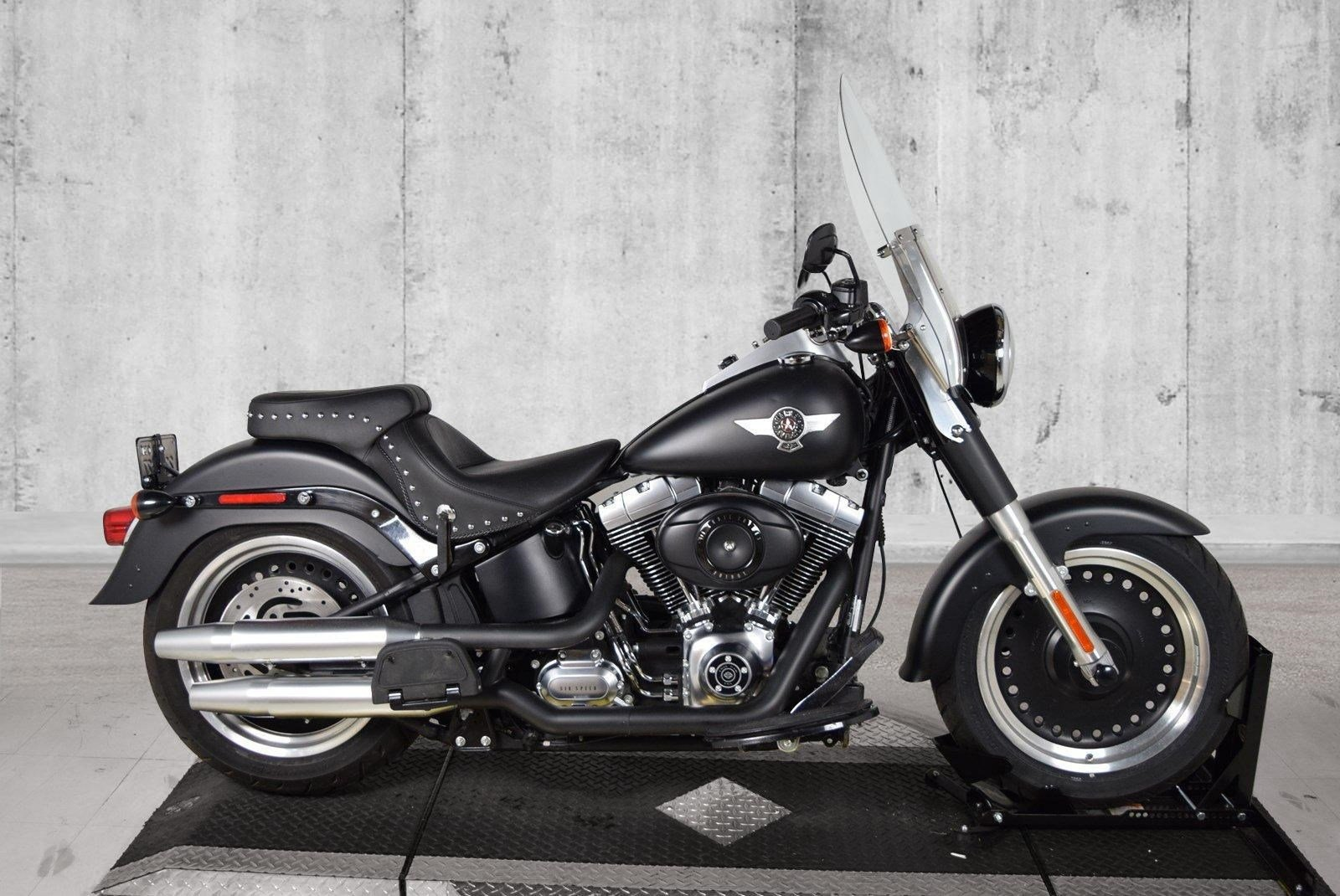 Pre-Owned 2010 Harley-Davidson Softail Fat Boy Lo FLSTFB