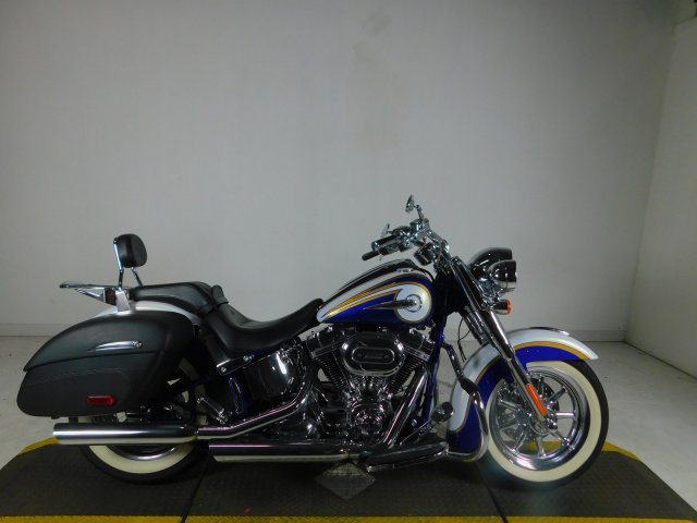 Pre-Owned 2014 Harley-Davidson Softail Deluxe CVO FLSTNSE