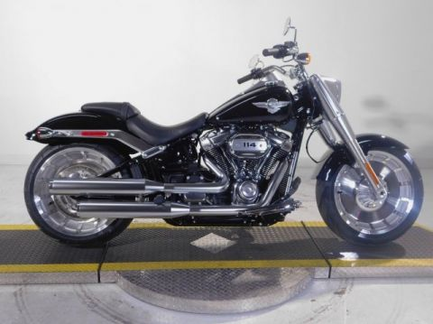 New 2018 Harley-Davidson Softail Fat Boy 114 FLFBS