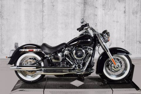 Pre-Owned 2020 Harley-Davidson Softail Deluxe FLDE